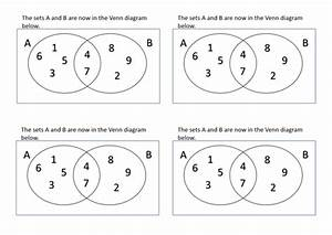 Printables Of Set Theory Worksheets Pdf