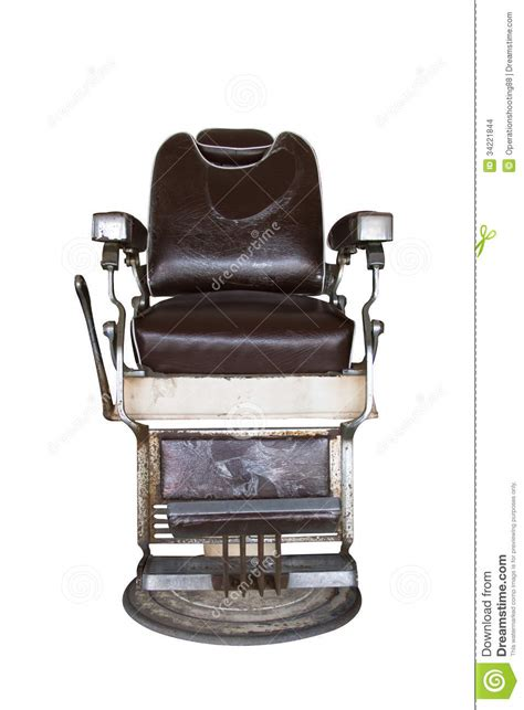 chaise coiffeuse oude kappersstoel stock foto afbeelding bestaande uit