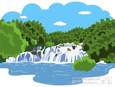River-with-waterfall-814