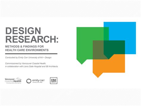 research and design design research methods findings for health care