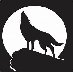 Howling Wolf Clip Art at Clker.com - vector clip art ...