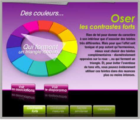 simulateur couleur chambre simulateur pour association de couleurs déco et peinture