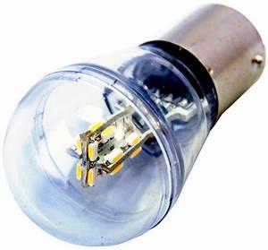 Ba15s Led 12v : 2x hqrp ba15s led white light 12v 16 smd bulbs for 1141 ~ Kayakingforconservation.com Haus und Dekorationen