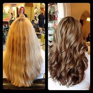 A hair masterpiece for a Soft Summer. Hair goes from one ...