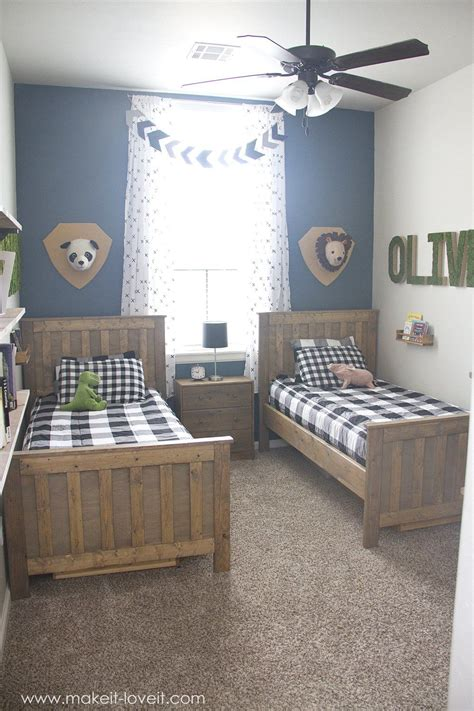 Decorating Ideas For Shared Bedroom by Ideas For A Shared Boys Bedroom Yay All Done Make
