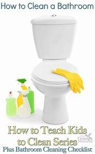 how to clean a bathroom With how to clean bathrooms