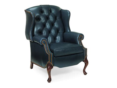reclining cing chairs hancock and living room tufted wing chair