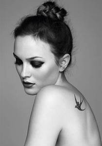 Leighton Meester Pretties Up Marie Claire UK (PHOTOS ...