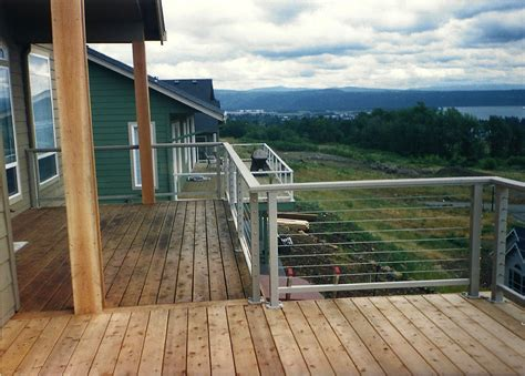 cable railings cost nice wire cable deck railing systems images electrical circuit diagram ideas eidetec com