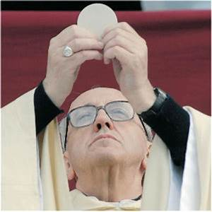 Why Pope Francis Doesn't Give Communion - Living Faith ...