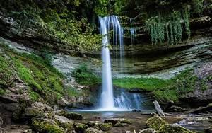 Download, Wallpaper, 2560x1600, Waterfall, Water, Rocks