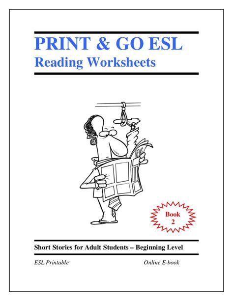 esl worksheets book 2 stories for students