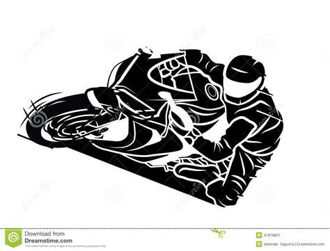 Moto Sport Stock Vector