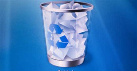 papierkorb weg  stellt ihr das desktopsymbol wieder