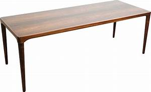 Table Basse Longue : longue table basse danoise en palissandre design market ~ Teatrodelosmanantiales.com Idées de Décoration