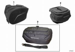 Bmw R1200r Topcase Inner Bag  Luggage