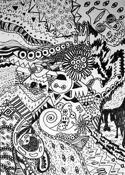 Doodles Random Really Fineliner Doodle Behance Project