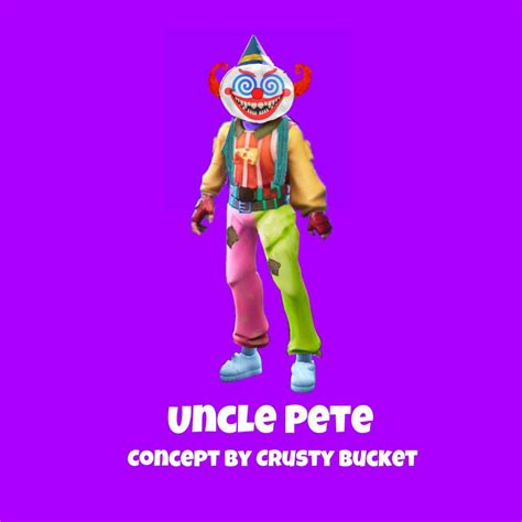 uncle pete skin design fortnite battle royale armory amino
