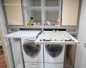 Bathroom Storage Idea Remodelaholic 25 Ideas For Small Laundry Spaces