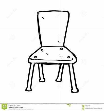 Chair Cartoon Stoel Line Stuhl Clip Drawing