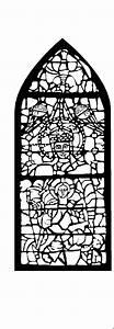 Kirchenfenster Mit Heiligen Ausmalbild Malvorlage Religion