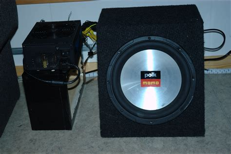diy subwoofer lifier power supply from an atx psu anders evenrud s