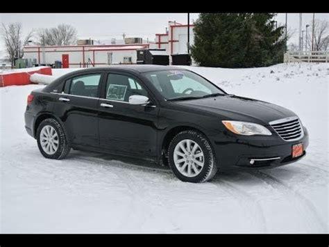 2014 Chrysler 200 Limited Sedan Black for sale Dealer