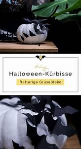 Gruselige Halloween Deko Selber Machen : gruselige halloween deko selber machen verziere k rbisse mit papier flederm usen f r ~ Yasmunasinghe.com Haus und Dekorationen