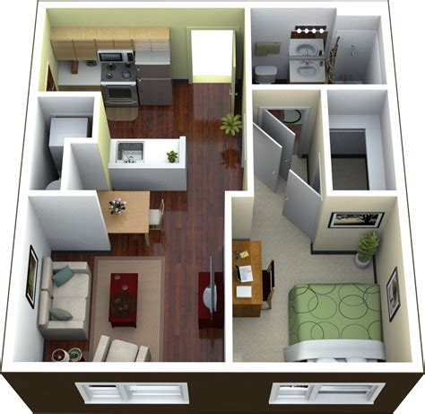 at home interior design view one bedroom apartment design home decor interior