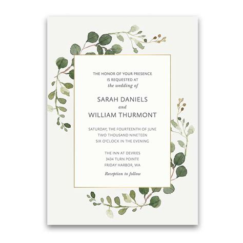 place cards for weddings for beautiful wedding card ideas create your own design bohemian wedding invitations boho chic greenery gold