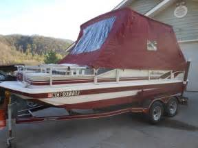 1999 Godfrey Hurricane Deck Boat by Answer Marine Boats For Sale
