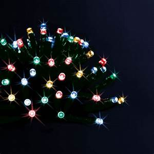 Guirlande Noel Solaire : guirlande lumineuse solaire 10 m multicouleur 100 led guirlande lumineuse eminza ~ Teatrodelosmanantiales.com Idées de Décoration