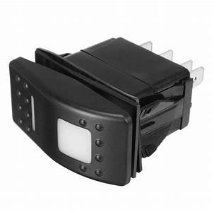 Universal 12v 7 Pins Led Light Switch Dpdt On