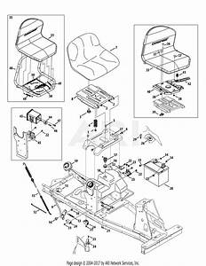Mtd 13a226jd000  2012  Parts Diagram For Seat  Fuel Tank  U0026 Electrical