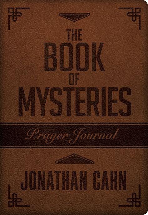 Book Of Mysteries Prayer Journal  Jonathan Cahn