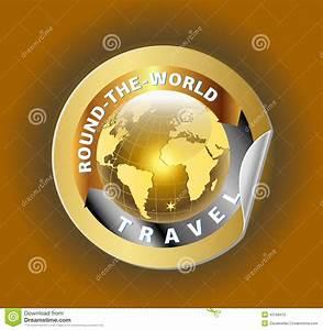Round Trip Time Berechnen : travel round the world symbol with golden globe symbol label cartoon vector ~ Themetempest.com Abrechnung
