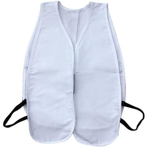 cloth safety vest white
