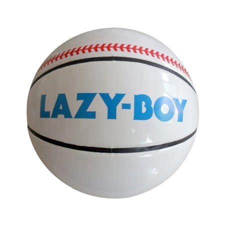 lazy boy ball baseketball basketball baseball coop remer
