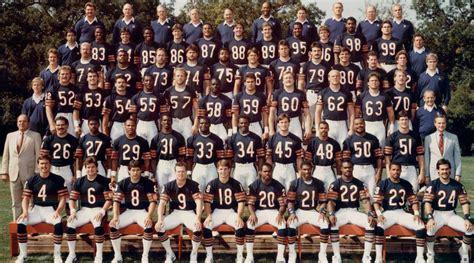 Chicago Bears Nfl Hall Of Fame Snubs From The 1985 Super