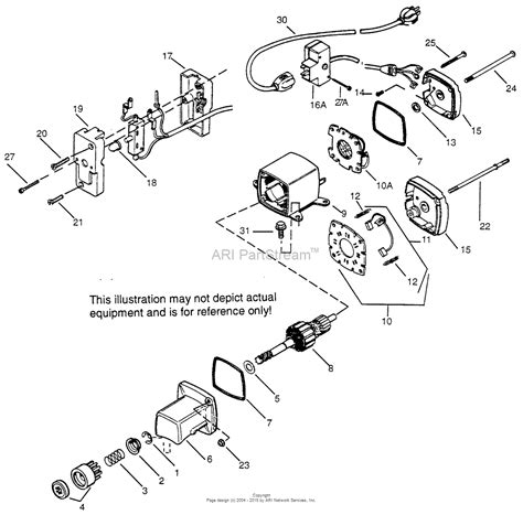 Electric Start Wiring Diagram by Tecumseh Es110 2 590546 Parts Diagram For Electric Starter