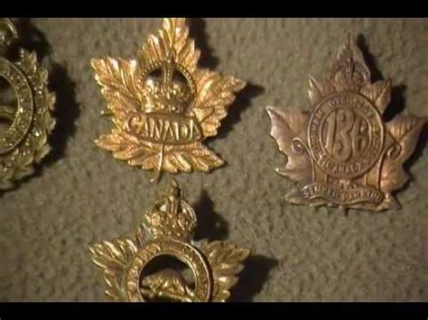 ww canadian army cap badge collection engineers