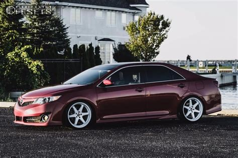 2013 toyota camry esr sr07 bc racing coilovers