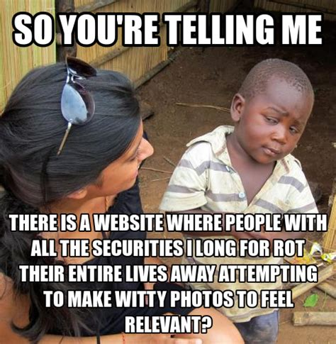 African Baby Meme - the gallery for gt skeptical african baby