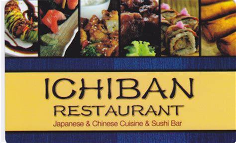 ichiban cuisine ichiban restaurant specials