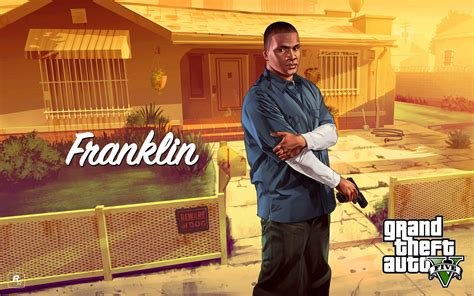 Chop And Franklin Grand Theft Auto V Wallpaper
