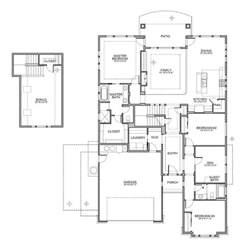 Brighton Homes Tuscany Floor Plan by Aberdeen Tuscany
