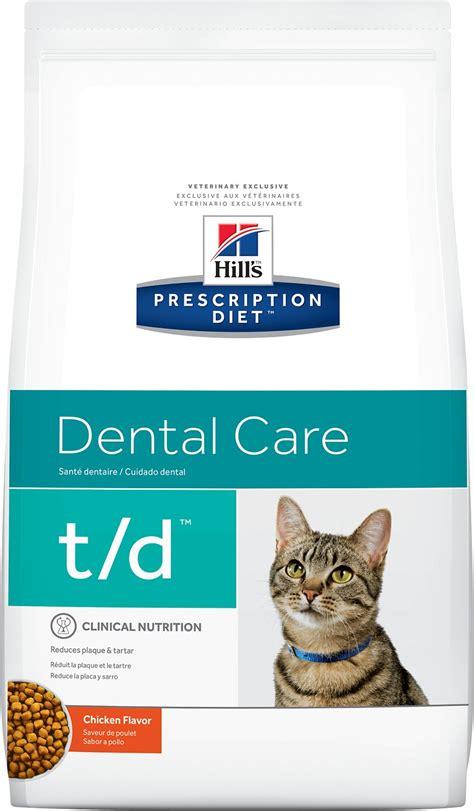 hills prescription diet td dental care chicken flavor