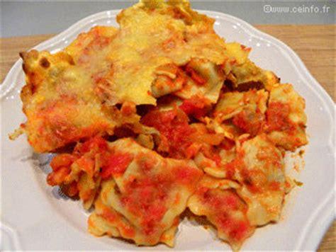 raviolis gratin 233 s 224 la sauce tomate recette facile recettes 224 base de p 226 tes