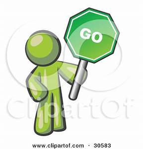 Green Go Sign Clipart | Clipart Panda - Free Clipart Images