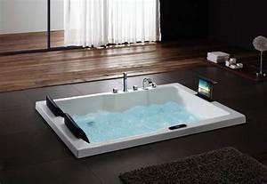 Tv Für Badezimmer : whirlpool badewanne 2 personen mit zwei nackenst tze und inklusive tv vpbridal ~ Markanthonyermac.com Haus und Dekorationen
